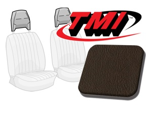 Head Rest Covers Bus '77-'79 brown