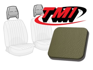 Head Rest Covers Bus '77-'79 grey