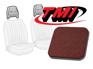 Head Rest Covers Bus '77-'79 red