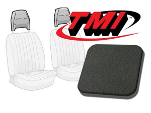 Head Rest Covers Bus '77-'79 charcoal
