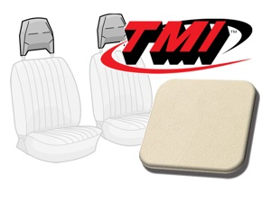 Head Rest Covers Bus '77-'79 cream white