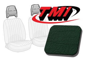Head Rest Covers Bus '77-'79 dark green
