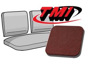 Rear Seat Cover red
