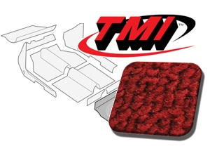 Carpet Kit Trunk rear Type-3 Fastback