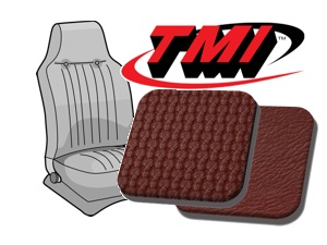 Seat Covers Basketweave red