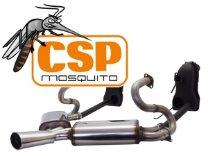 Exhaust Mosquito with Heat Exchangers