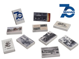 Matchbox-Set ''MAHAG''