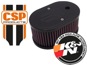 CSP Products Air Filter w/Crest