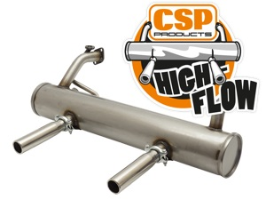 CSP High-Flow Exhaust