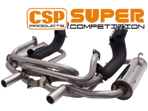 CSP Super-Competition Exhaust-System with Heat Exchangers